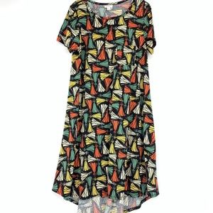 LuLaRoe Disney Sleeping Beauty Carly Dress Size M